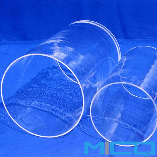 Large diameter gas refining silicon glass tubing china